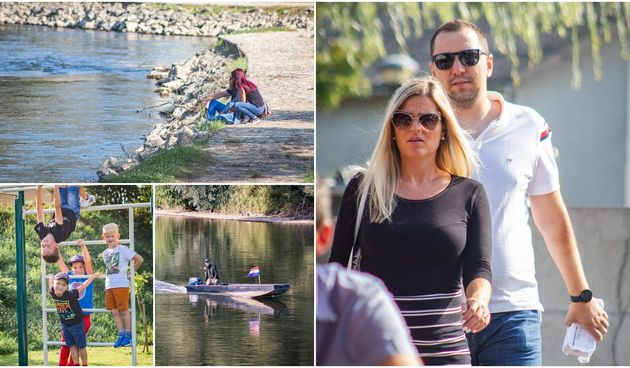 KLIKOM PO MURI Brojni građani uživali u toploj nedjelji u Murskom Središću