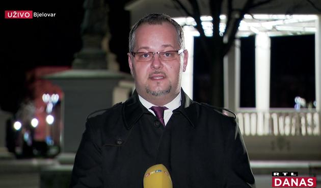 Mario Gazić za RTL o slavlju na COVID odjelu: '