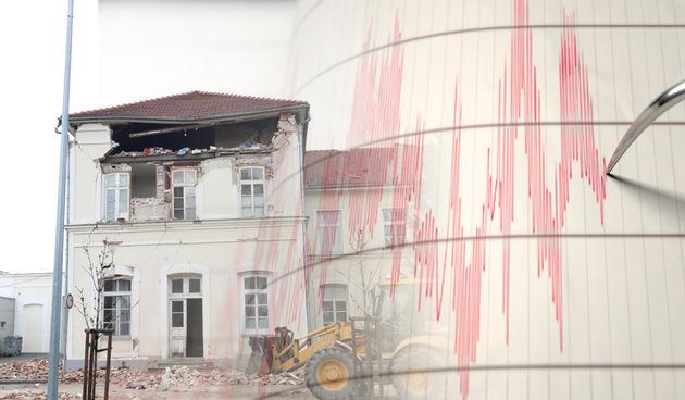 Sisak potres ilustracija