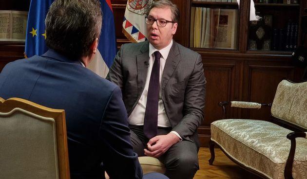 vučić intervju