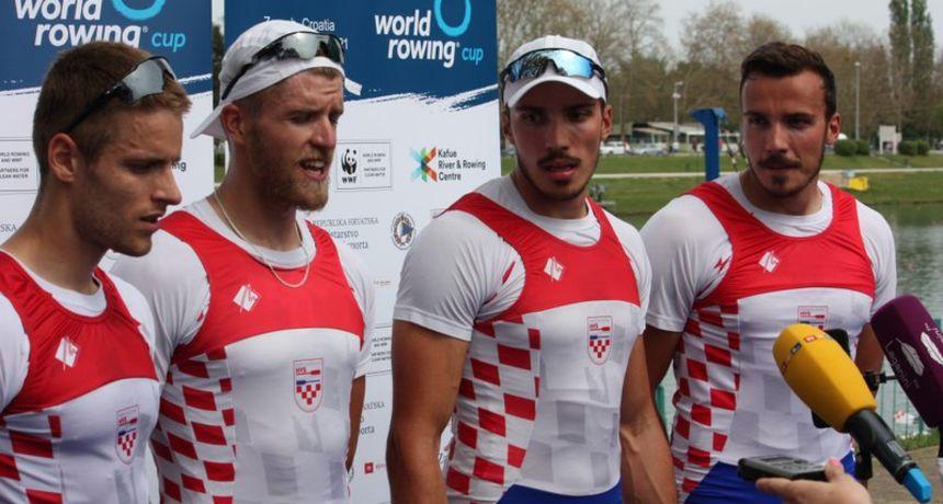 Osječka veslačka braća brončana na Svjetskom kupu u Zagrebu