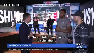 Usik napada Joshuine pojaseve, Milun pomogao prvaku u pripremama (thumbnail)