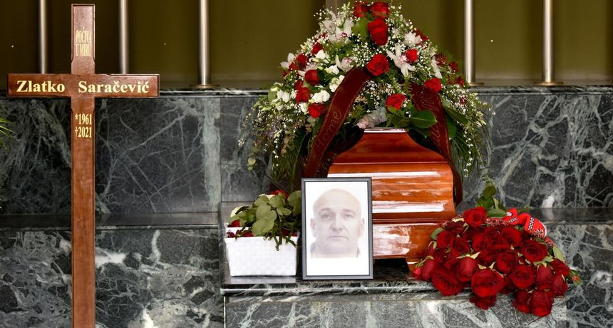 FOTO Pokopan legendarni Zlatko Saračević: 'Prestalo je kucati veliko srce...'