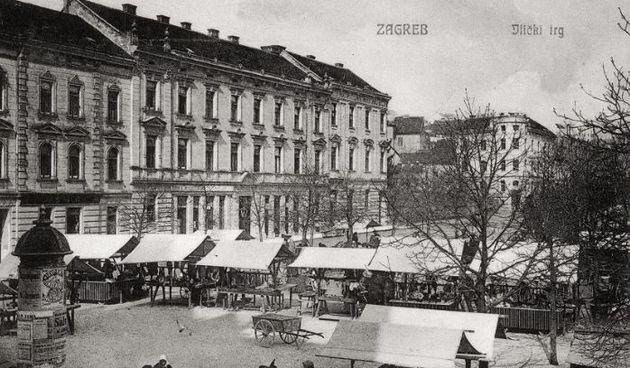 Britanski (Ilički) trg 1895. godine