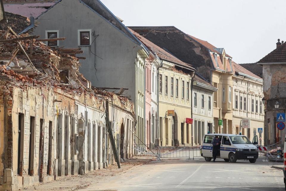 Novi potres u Petrinji