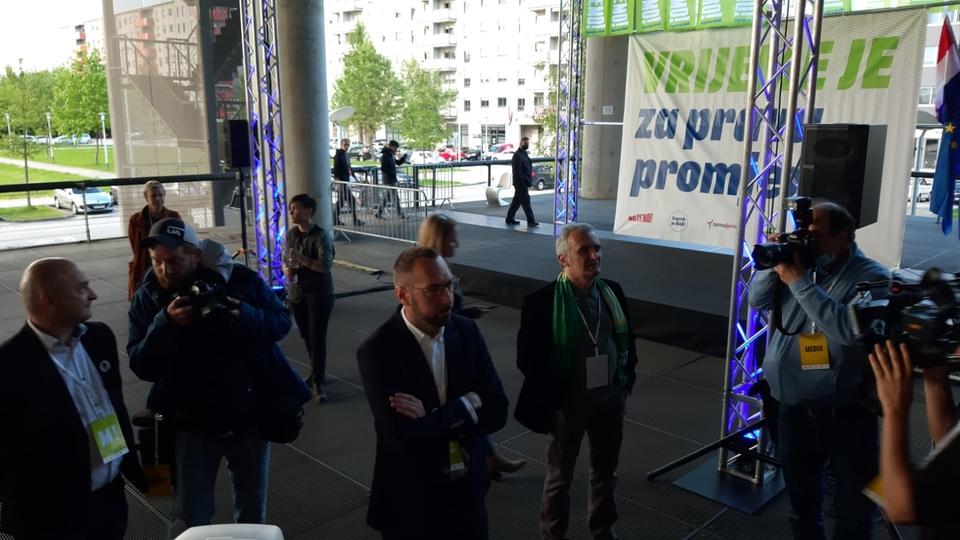Izborni stožer kandidata Tomislava Tomaševića