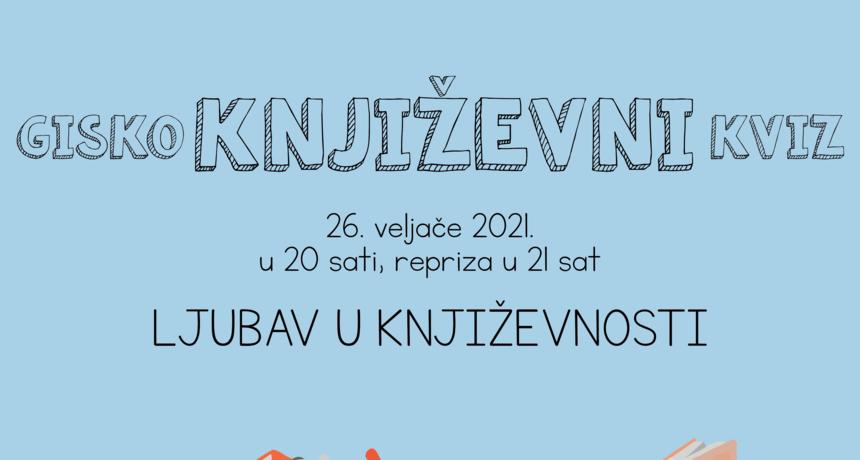 GISKO: Književni kvizovi - Ljubav u književnosti