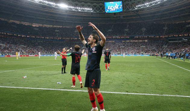 Mario Mandžukić u drugom produžetku zabio za pobjedu 2:1 protiv Engleske