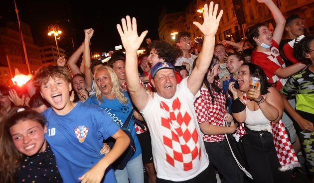 Hrvatska je pobijedila Škotsku