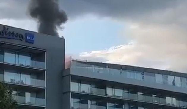 Požar u splitskom hotelu