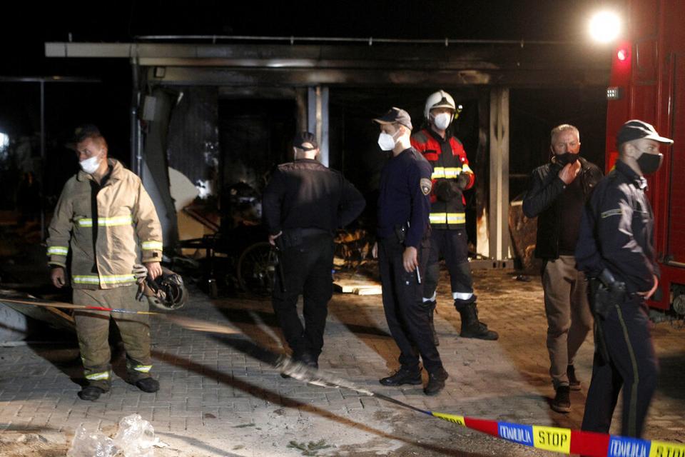 Požar na Covid odjelu u Sjevernoj Makedoniji: Najmanje 14 osoba je poginulo