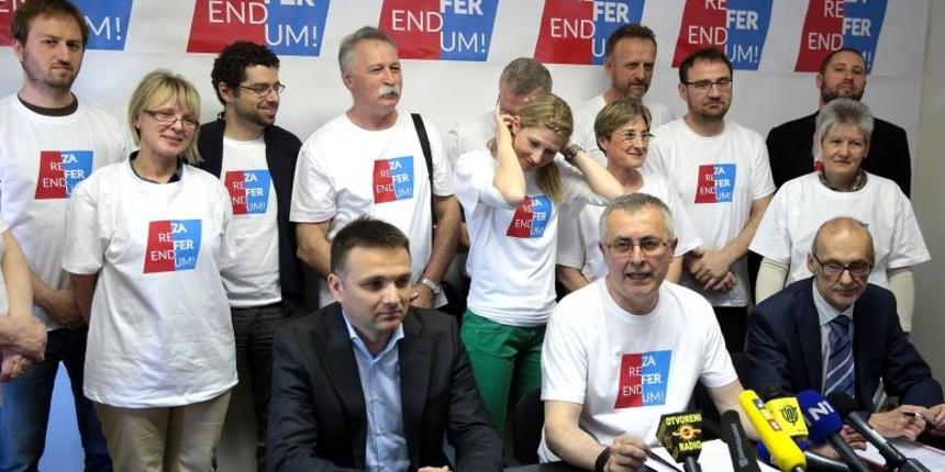 Sindikati i udruge najavili prikupljanje potpisa: 'Želimo spasiti referendum od onih koji ga ugrožavaju'
