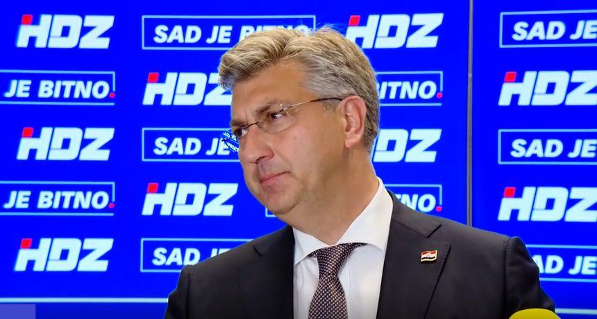 HDZ: Plenković nije ušao