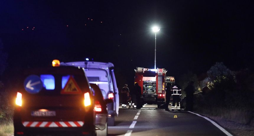 U sinoćnjem sudaru kod Murvice dvoje teško ozlijeđeno, jedna osoba životno ugrožena
