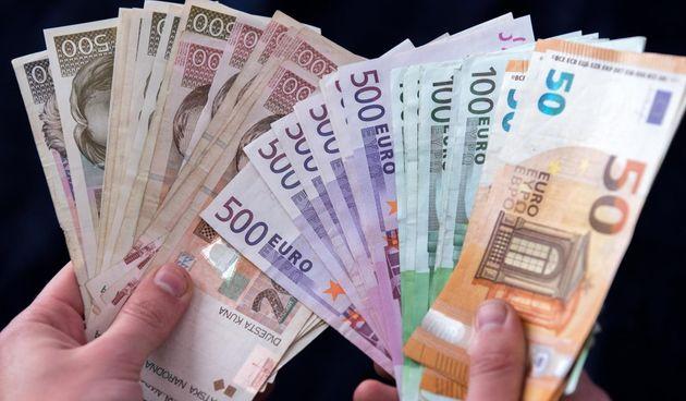 Euro, kune