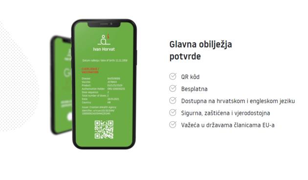 covid putovnica portal