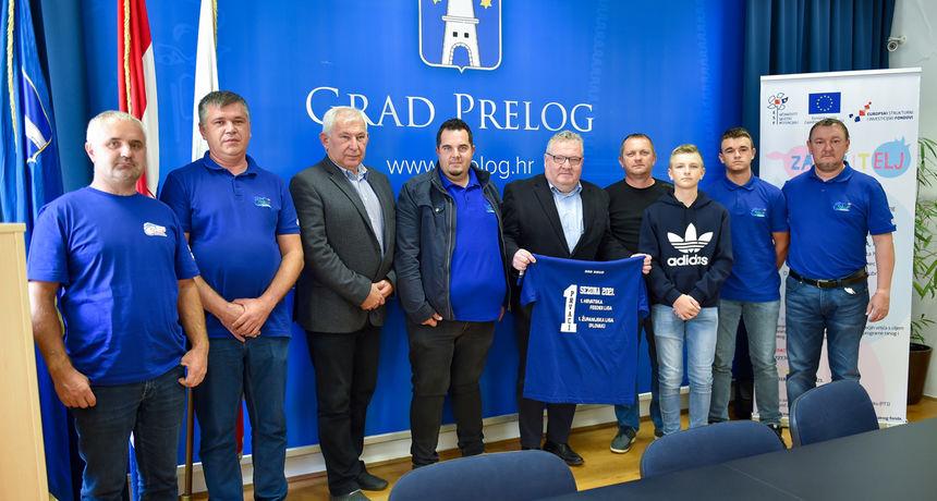 PRELOG Gradonačenik Kolarek priredio prijem za uspješne ribolovce iz Draškovca