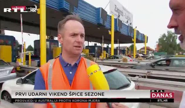 Gužva na cesti plus live s Lučkog gost hrvatske autoceste  (thumbnail)