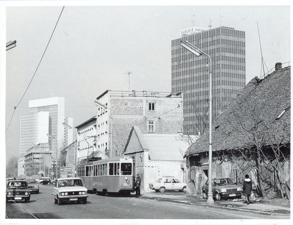 Zagreb 70-ih Savska cesta