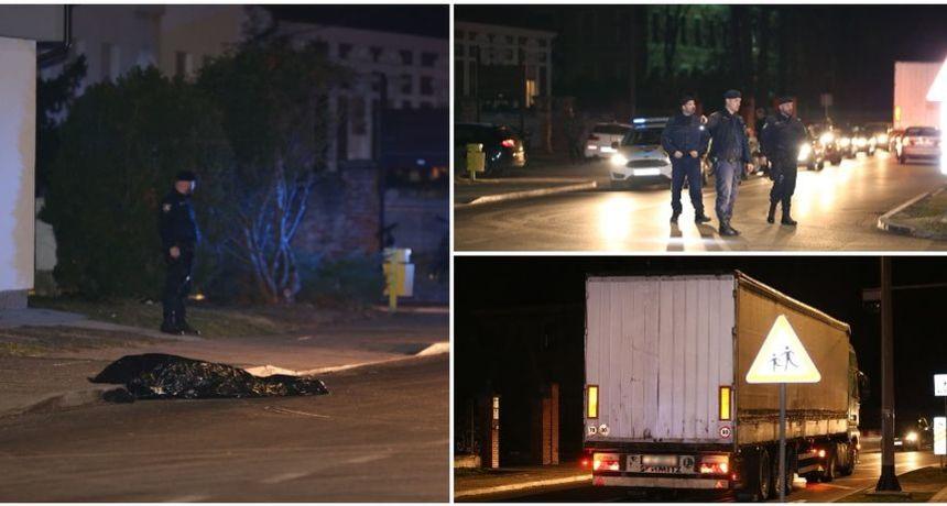 FOTO Teška nesreća u Čakovcu: Vozač kamiona nije vidio muškarca kako leži na kolniku pa ga pregazio