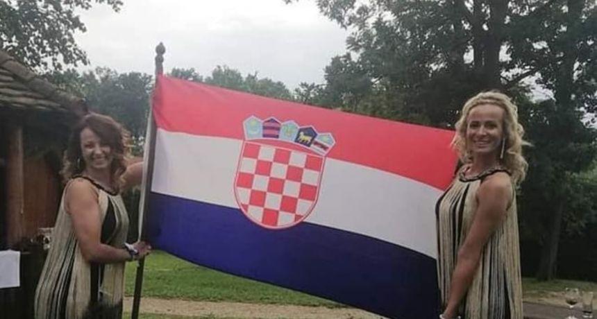 Nikolina Tutić proslavila Dan državnosti sa stilom!