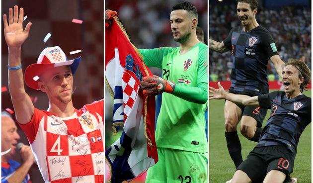 Perišić, Subašić, Modrić