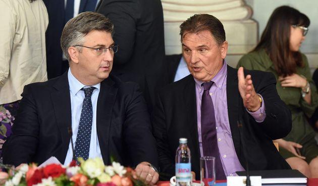 Radimir Čačić, Andrej Plenković