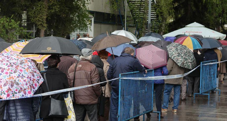 FOTO Evo koliko se točno građana danas cijepilo na zagrebačkom Velesajmu