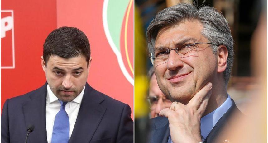 Plenković odgovorio Bernardiću: 'Sigurna smo zemlja. Za razliku od njega, mi smo zadržali radna mjesta'