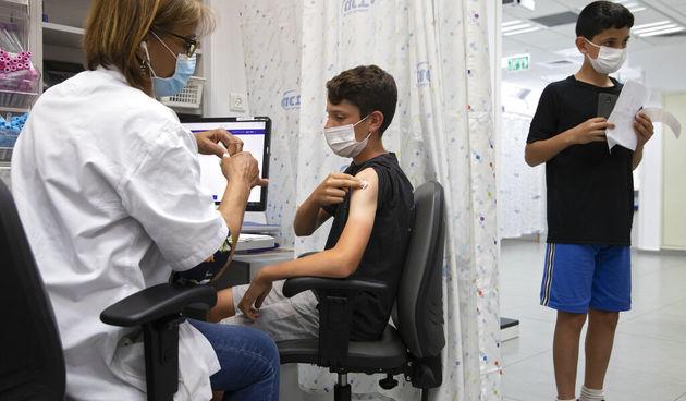 Cijepljenje djece protiv covida-19 u Izraelu