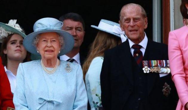 princ Philip, kraljica Elizabeta II.