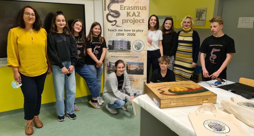 PRVA OSNOVNA ŠKOLA Održana prva virtualna mobilnost u sklopu Erasmus projekta 'Teach me how to play'