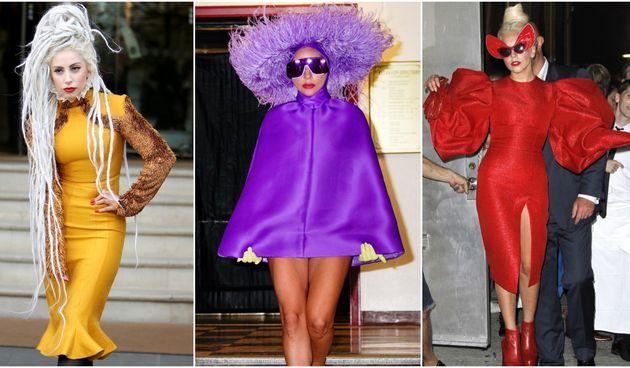 Lady Gaga kolaž