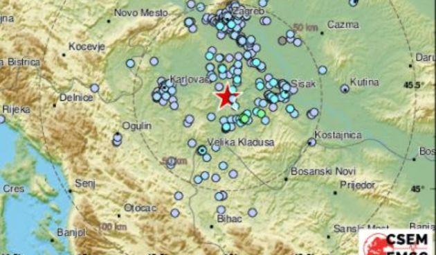 Nije se tresao noćas samo Zagreb, potresi kod Siska i u Dalmaciji: 'Tutnjava. Zvuk potresa je bio dug'