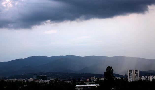 oblačno, Zagreb