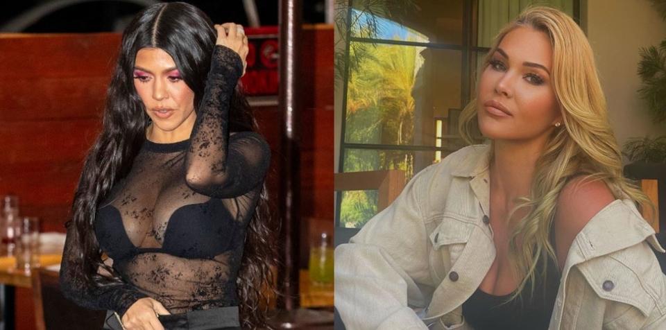 Kourtney Kardashian i Shanna Moakler