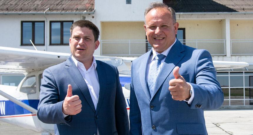 Ministar mora, prometa i infrastrukture Oleg Butkovića dao podršku Alenu Runcu, kandidatu za gradonačelnika