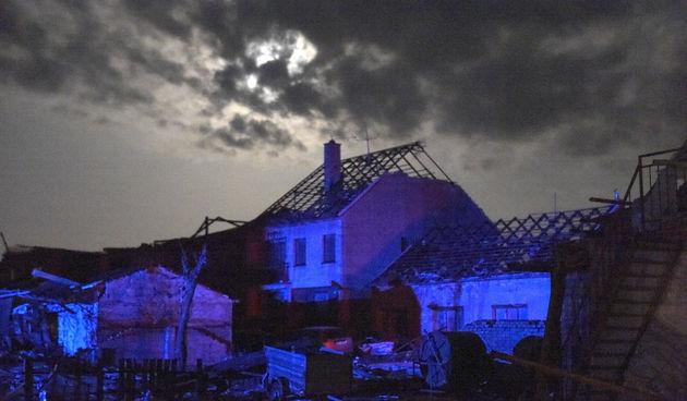 tornado češka