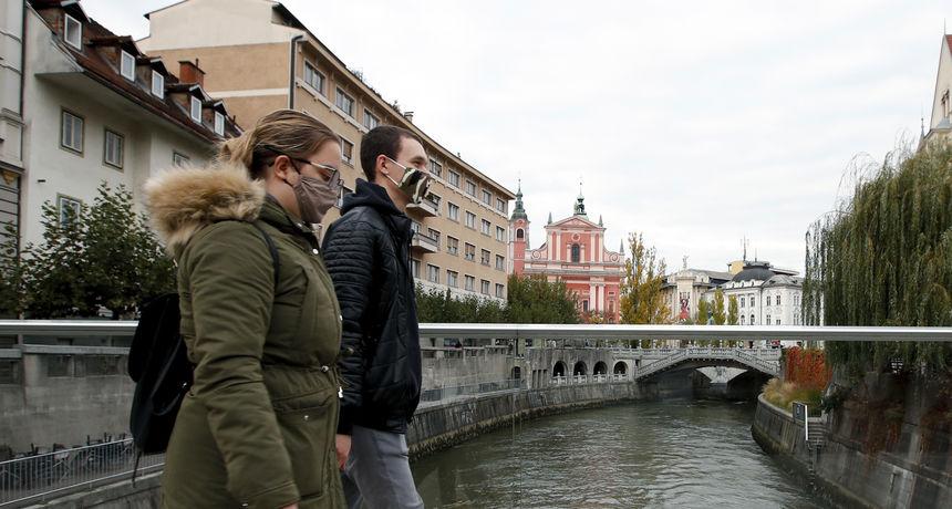 U Sloveniji 1227 novozaraženih, epidemija stagnira, ali bolnice i dalje pune