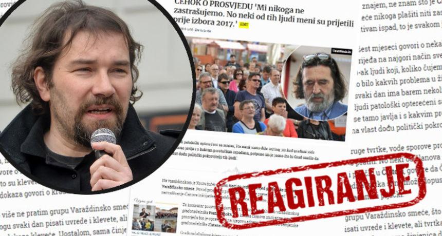 REAGIRANJE Mikac odgovorio Čehoku: 'Gradonačelnik lažima nanosi štetu mom profesionalnom i osobnom životu i djelovanju'