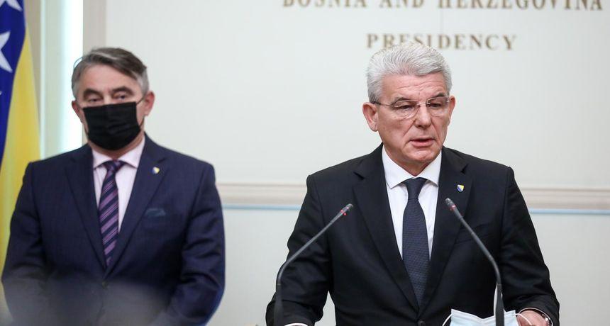 Skandal u BiH! Komšić i Džferović odbili se susresti Lavrovom: 'Nećemo biti ruski pijuni na Balkanu'