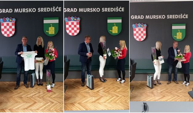 Gradonačelnik Dražen Srpak primio pobjednicu Utrke 24 sata Ivančice