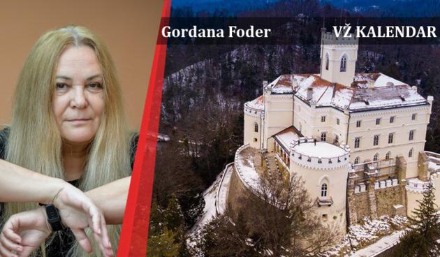 Gordana Foder, Vž kalendar, dvorac Trakošćan