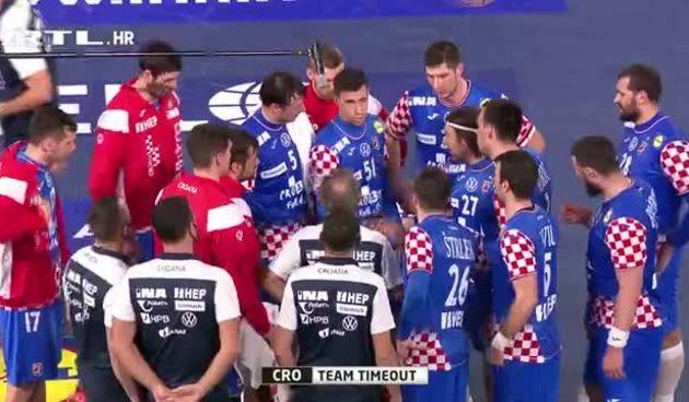 Time out Hrvatske na kraju prvog poluvremena (thumbnail)