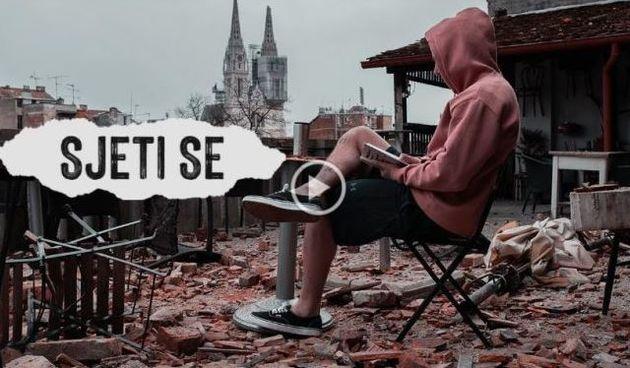 ''Sjeti se'' je film mladog Zagrepčanina o potresu u glavnom gradu: Naježit ćete se, vjerujte nam