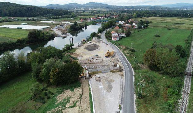 Konstrukcija novog mosta u Gornjem Pokupju projektirana za teško prometno opterećenje - Grad Ozalj objavio i druge tehničke podatke