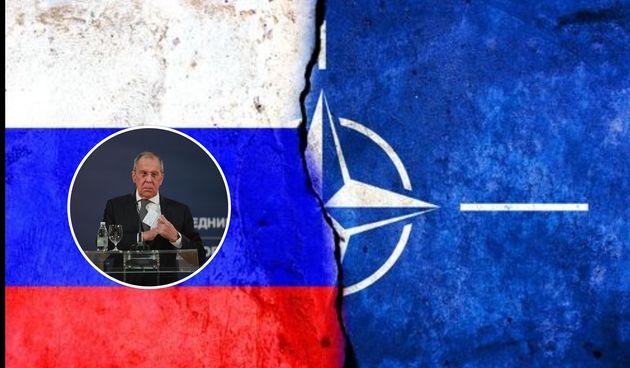 Lavrov, Rusija, Nato