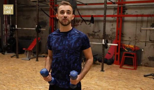 Trener Vedran Spevan pokazao nam je vježbe za savršeno oblikovane ruke (thumbnail)