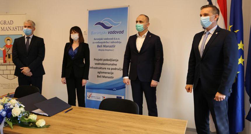 Uz 72 posto bespovratnih EU sredstava Beli Manastir gradi novi sustav odvodnje