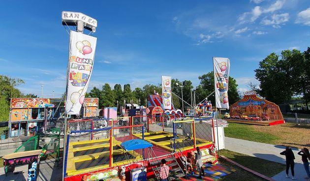 Lunapark Čarli na ŠRC-u Korana otvoren do 4. listopada - zagarantirana zabava u  najvećem lunaparku ovog tipa u Hrvatskoj